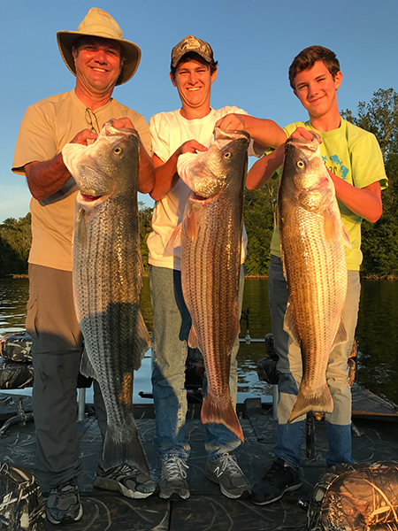 Three Guys - Three Stripers!